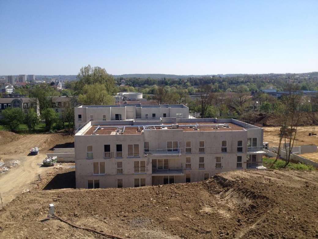 51 logements - Villenoy - Toitures terrasses accessibles et non accessibles - jardin végétalisé - 1