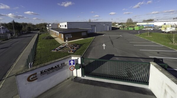 Le siège de Ecobat & Couppé situé à Chatelet-en-Brie